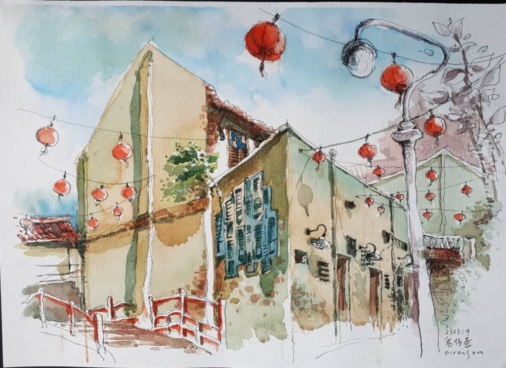 kwai chai hong painting